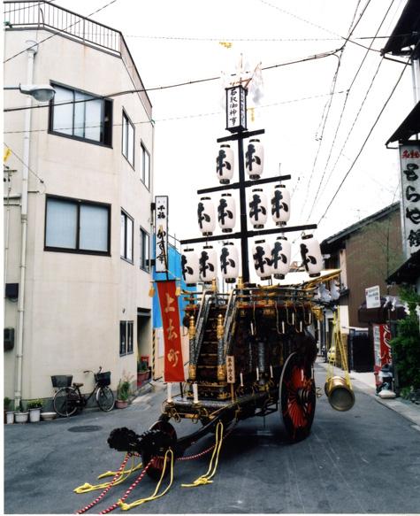 石取祭車製作 上本町
