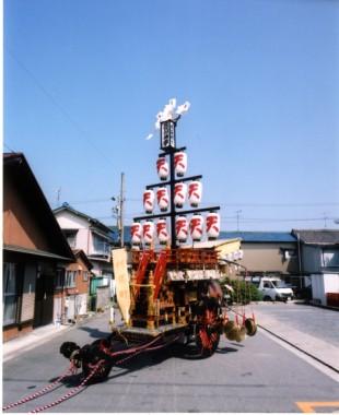 石取祭車製作 伝馬町