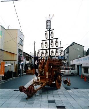 石取祭車製作 片町