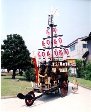 石取祭車製作 鍛冶町